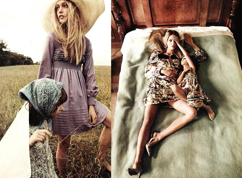 Sasha(left): Dior, Sasha(right): Isola