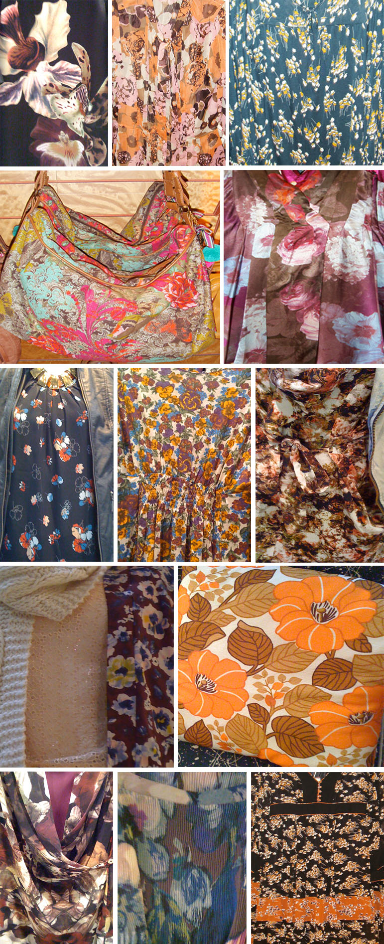fall floral street pattern post