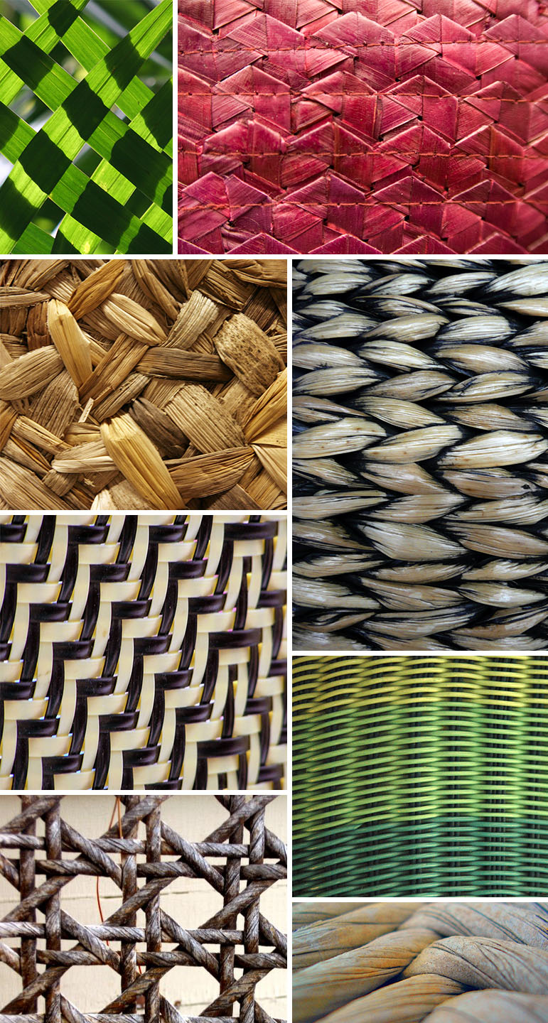Basket Weaving Example Of Which Industry : Found patterns basketweave pattern observer