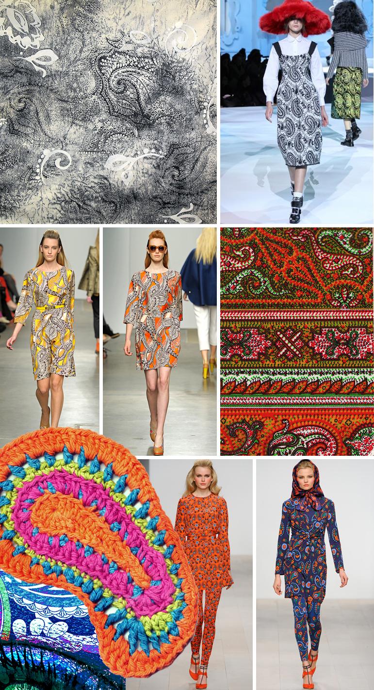 Trend Report Paisleys Pattern Observer