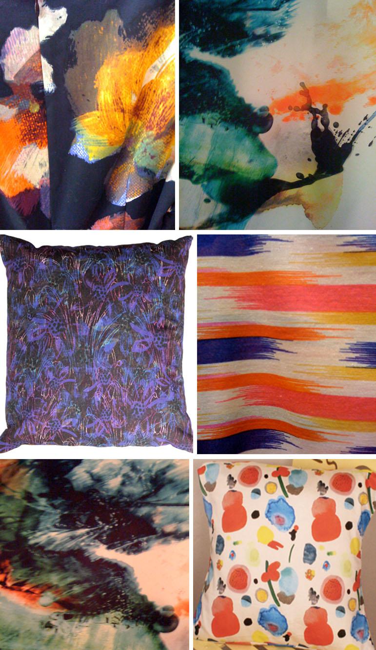 colour splash street patterns