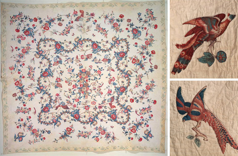 The History of The American Quilt: 17th and 18th Century - Pattern ... : history of american quilts - Adamdwight.com