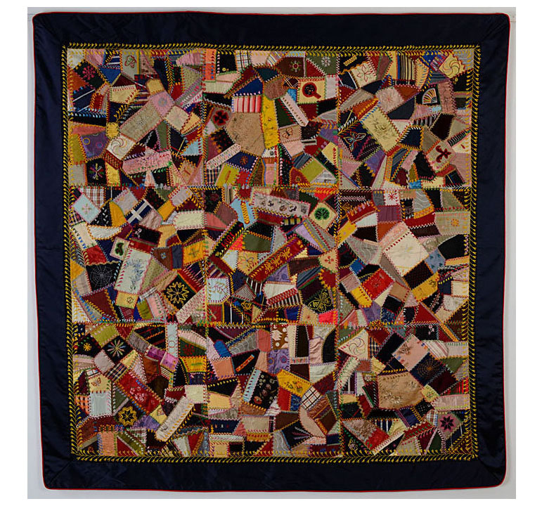 The History of The American Quilt: 19th Century - Pattern Observer : history of crazy quilts - Adamdwight.com