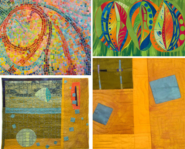 Fabric Painting For Art Quilts