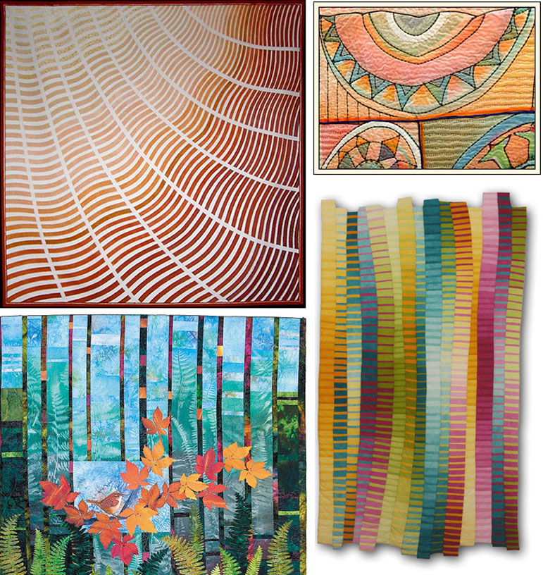 The History of The American Quilt: Art Quilts - Pattern Observer : quilt paintings - Adamdwight.com