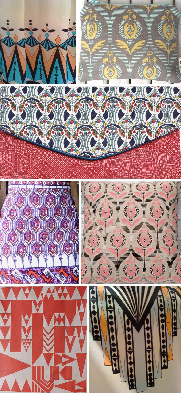street patterns art deco pattern observer. Black Bedroom Furniture Sets. Home Design Ideas