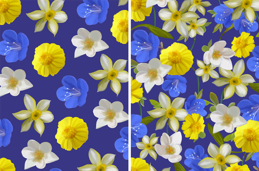 floral for post
