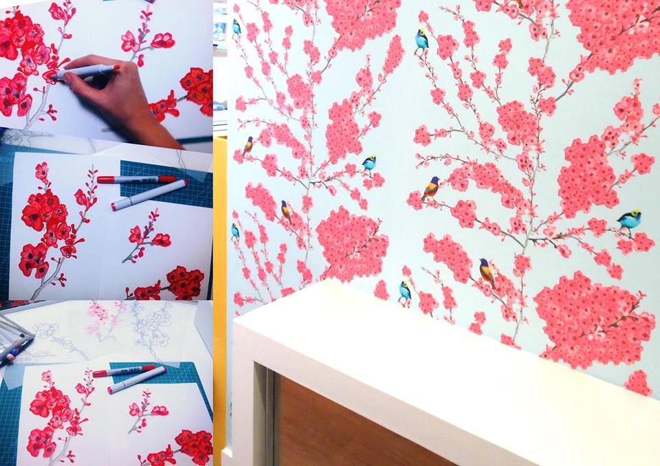 print studio-pegasus wallpaper-pattern observer