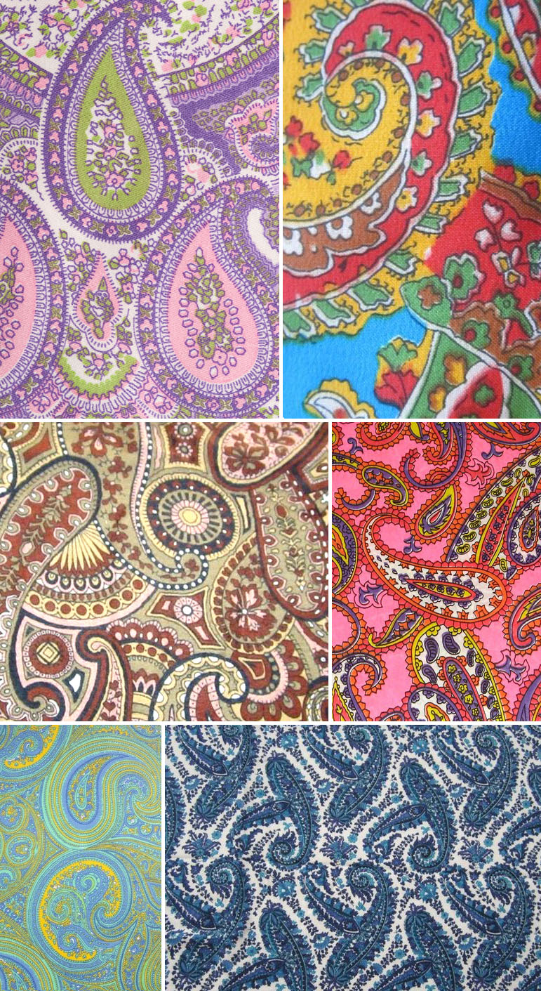 PO - paisley - 60s selection
