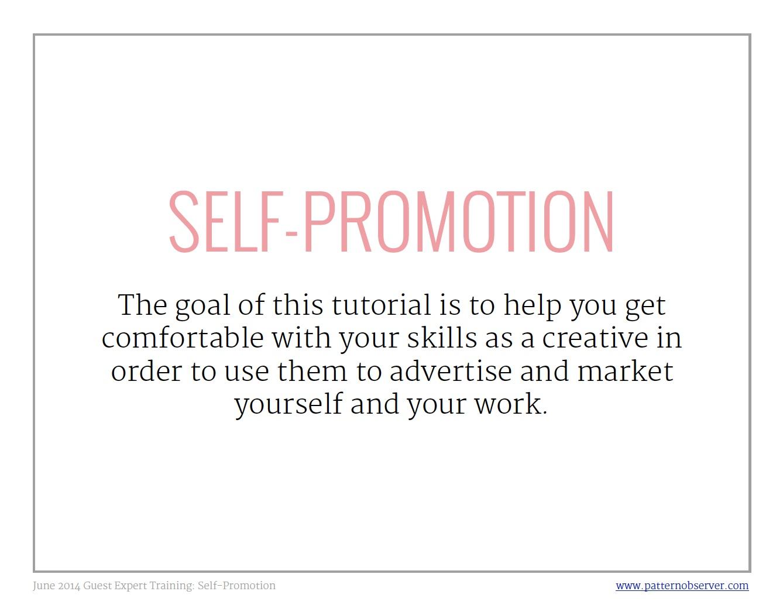 self-promotion for designers_ Pattern Observer