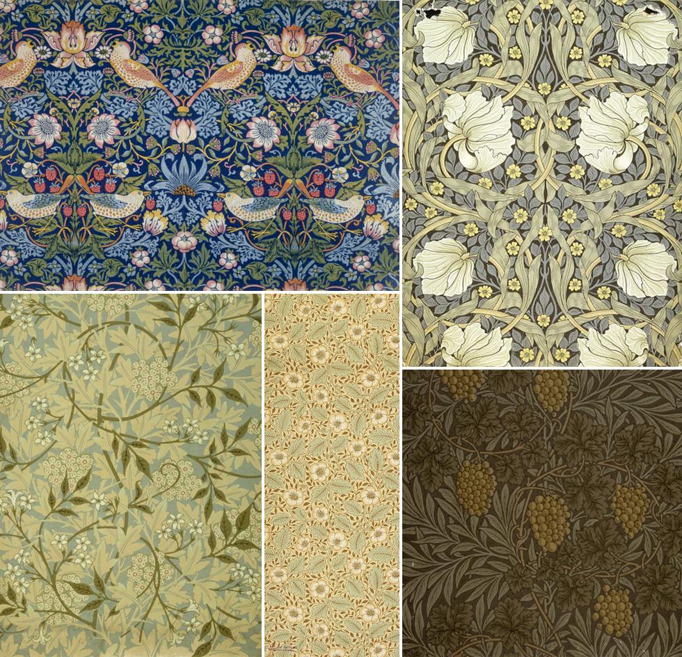 History Of Surface Design William Morris Pattern Observer