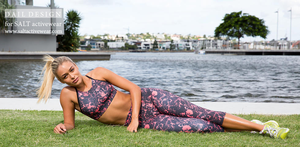 Dail Design Print Salt Active Wear