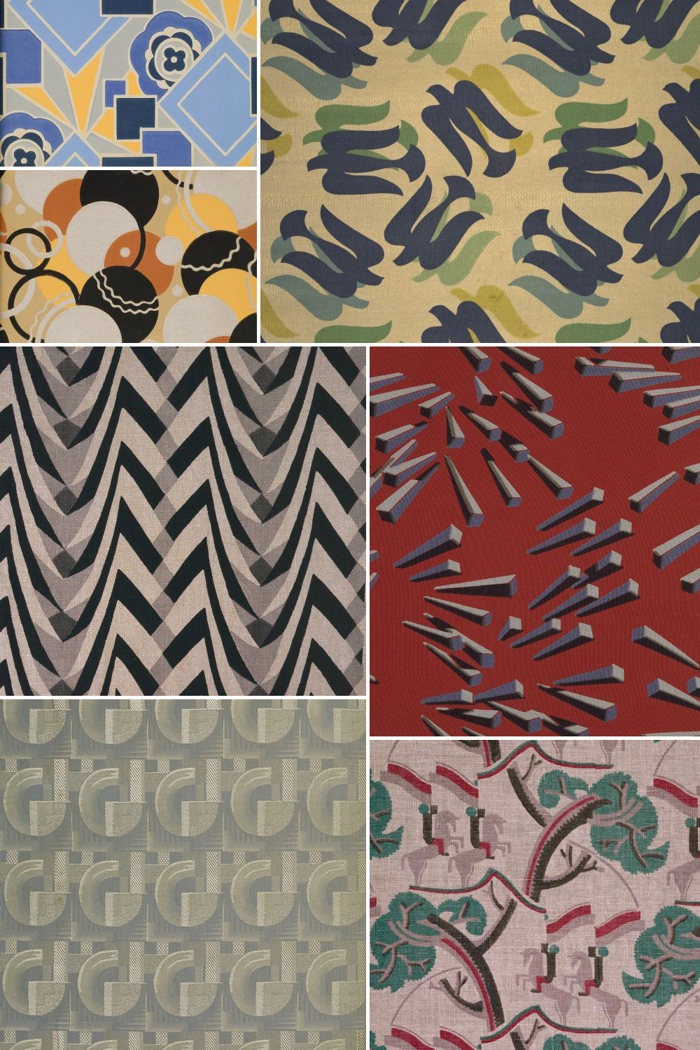 History of surface design art deco pattern observer for Art deco artists and designers