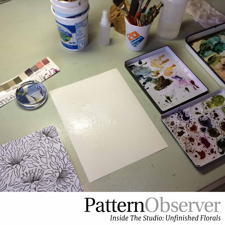 Pattern Observer_Unfinished Florals