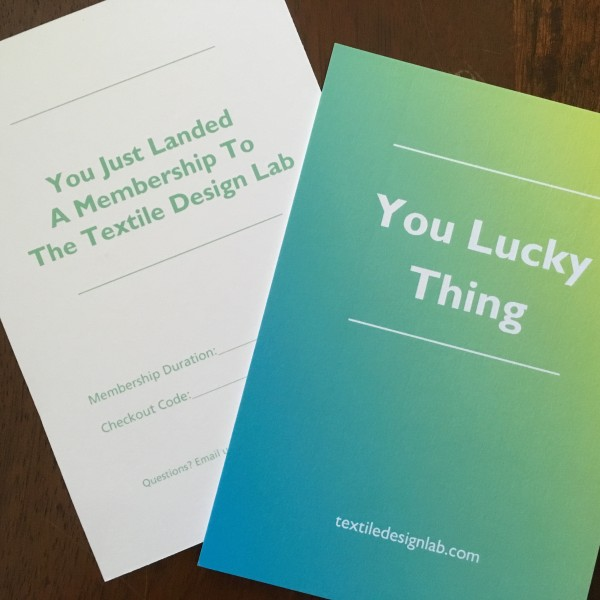 Textile Design Lab Gift Cards