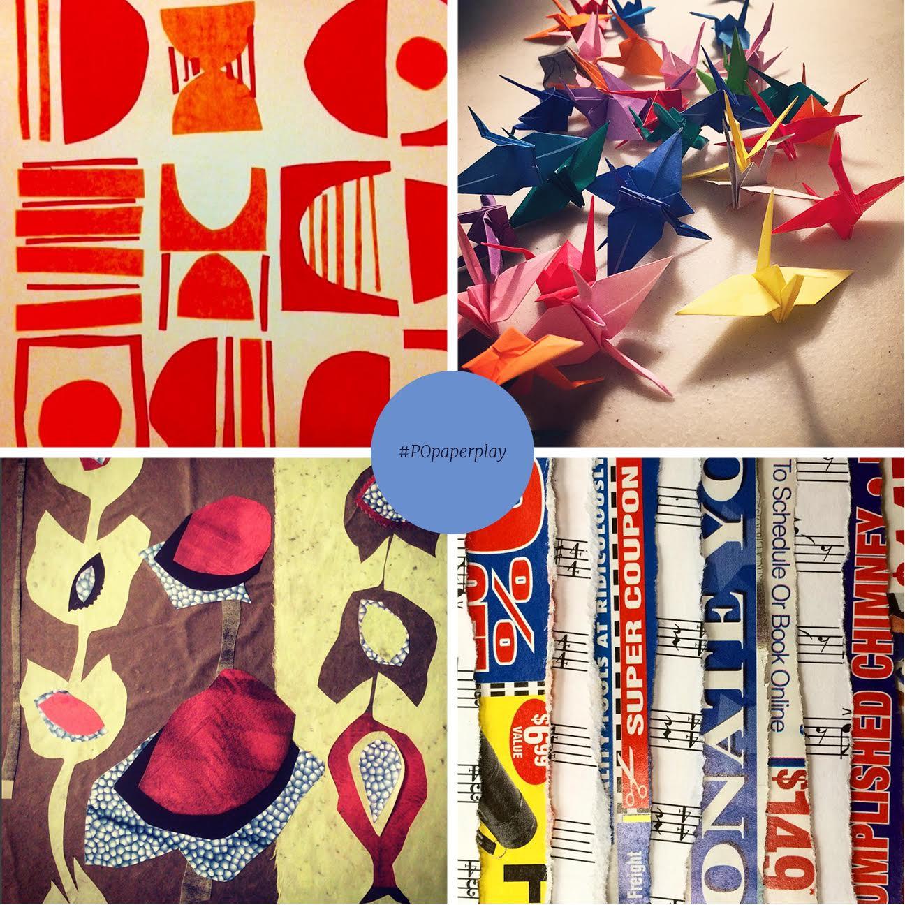 Pattern Observer Instagram Challenge Recap: #POpaperplay