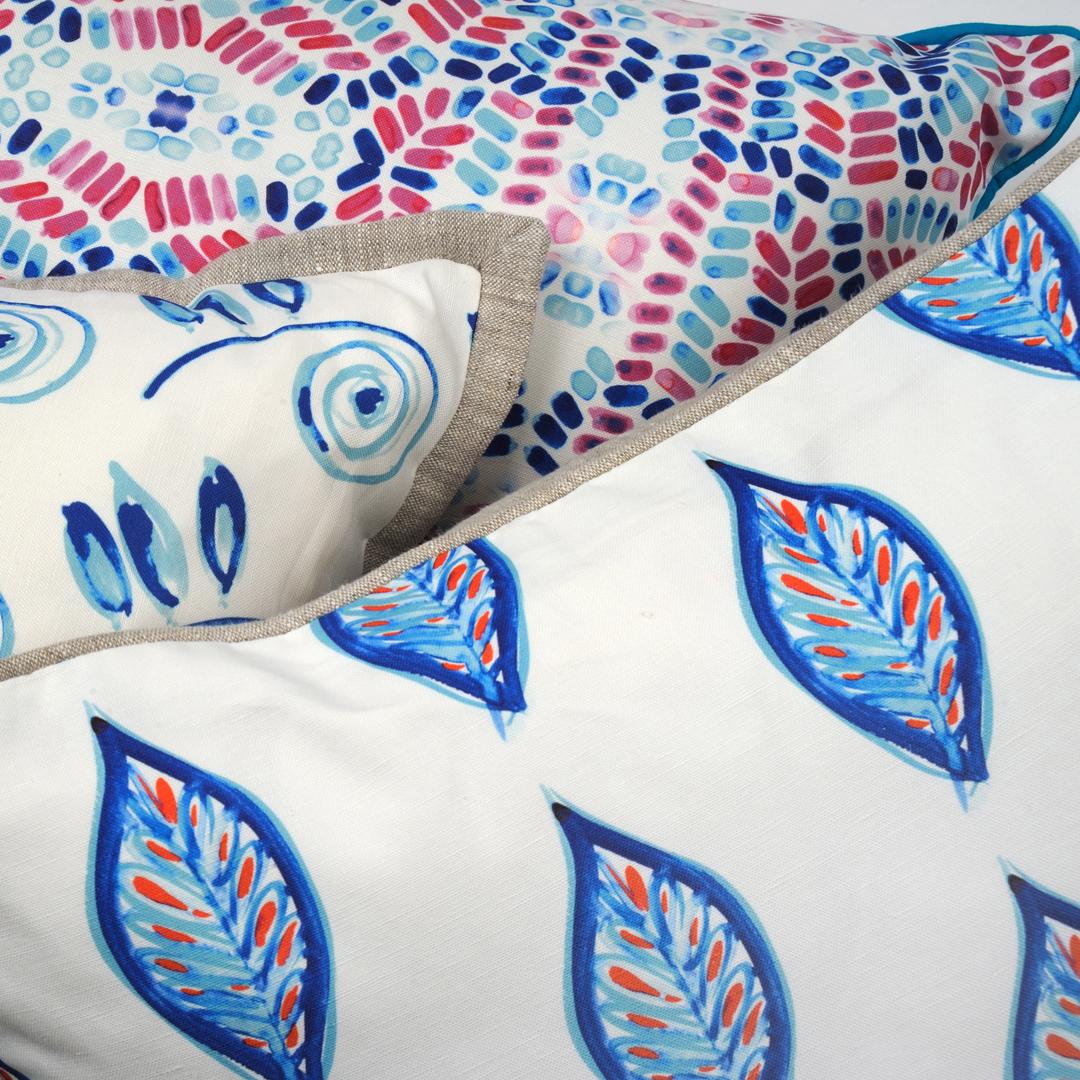 MiraJeanDesigns Coastal Pillows close up