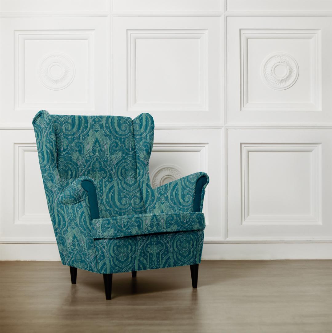 Sea Glass on Chair