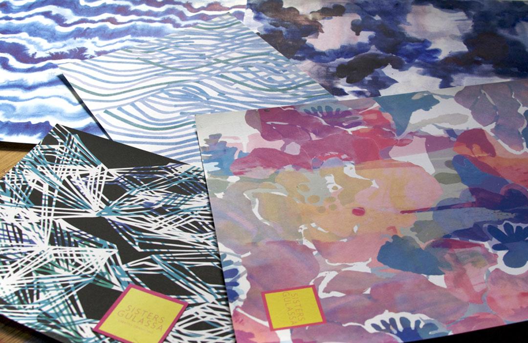 Sisters Gulassa print designs