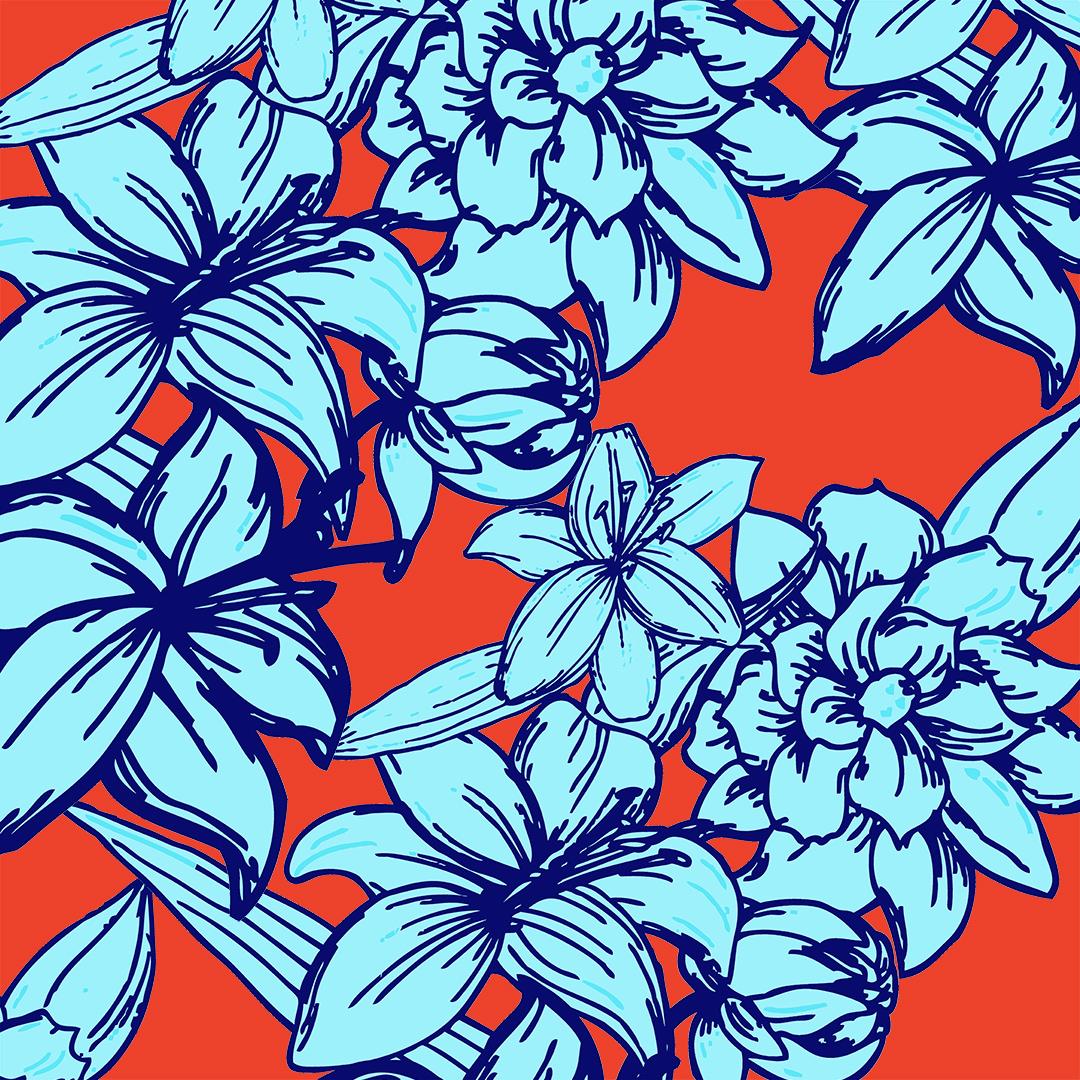 LILY FLOWER PATTERN