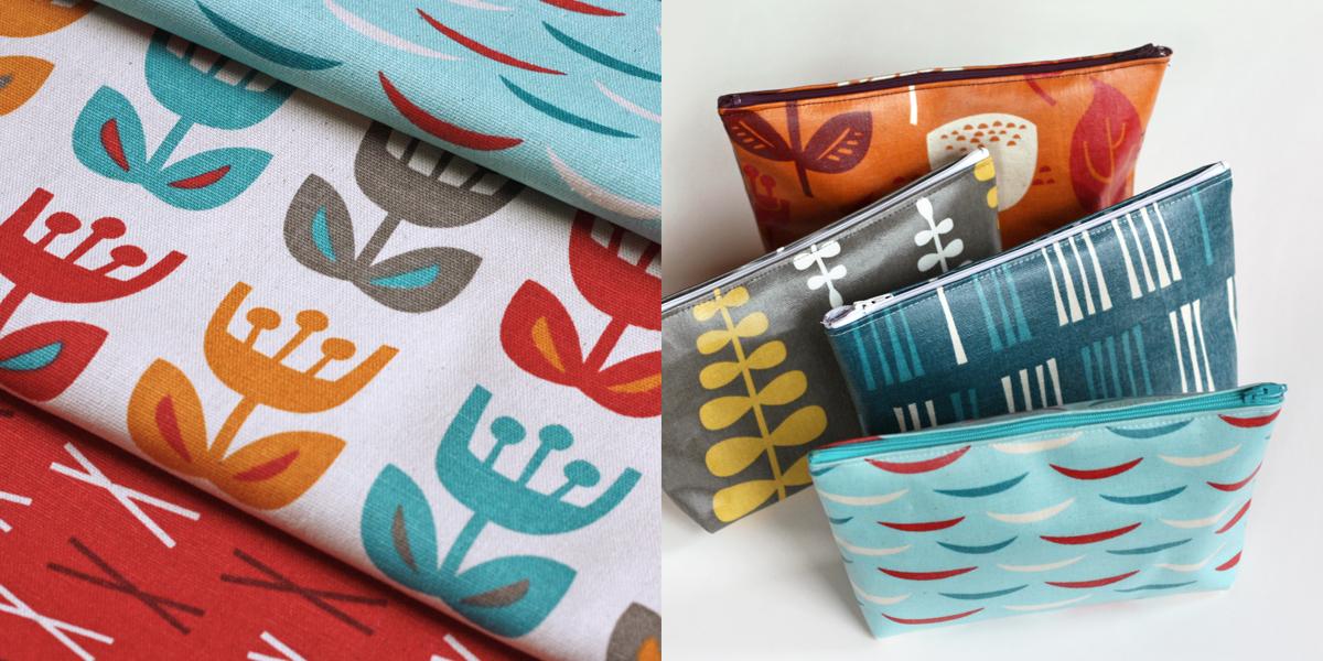 Scandinavian fabric prints