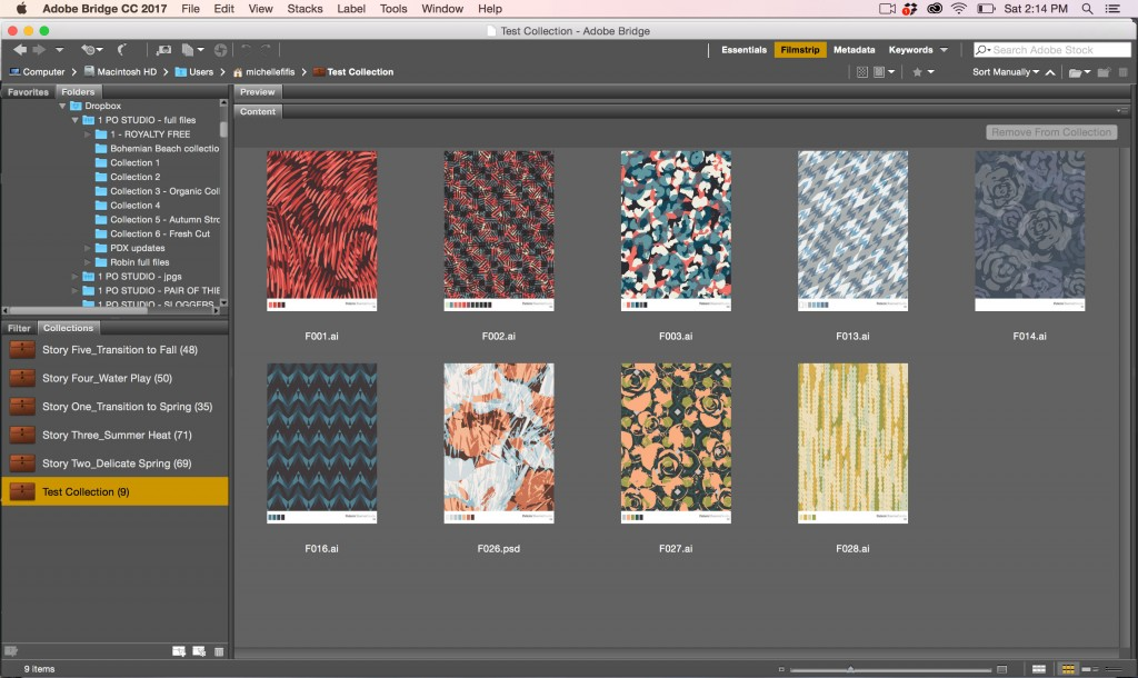 Pattern-Organize-Collections