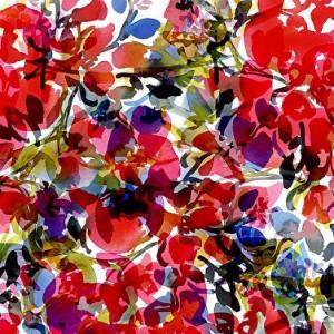 Floral pattern by Pamela Gatens