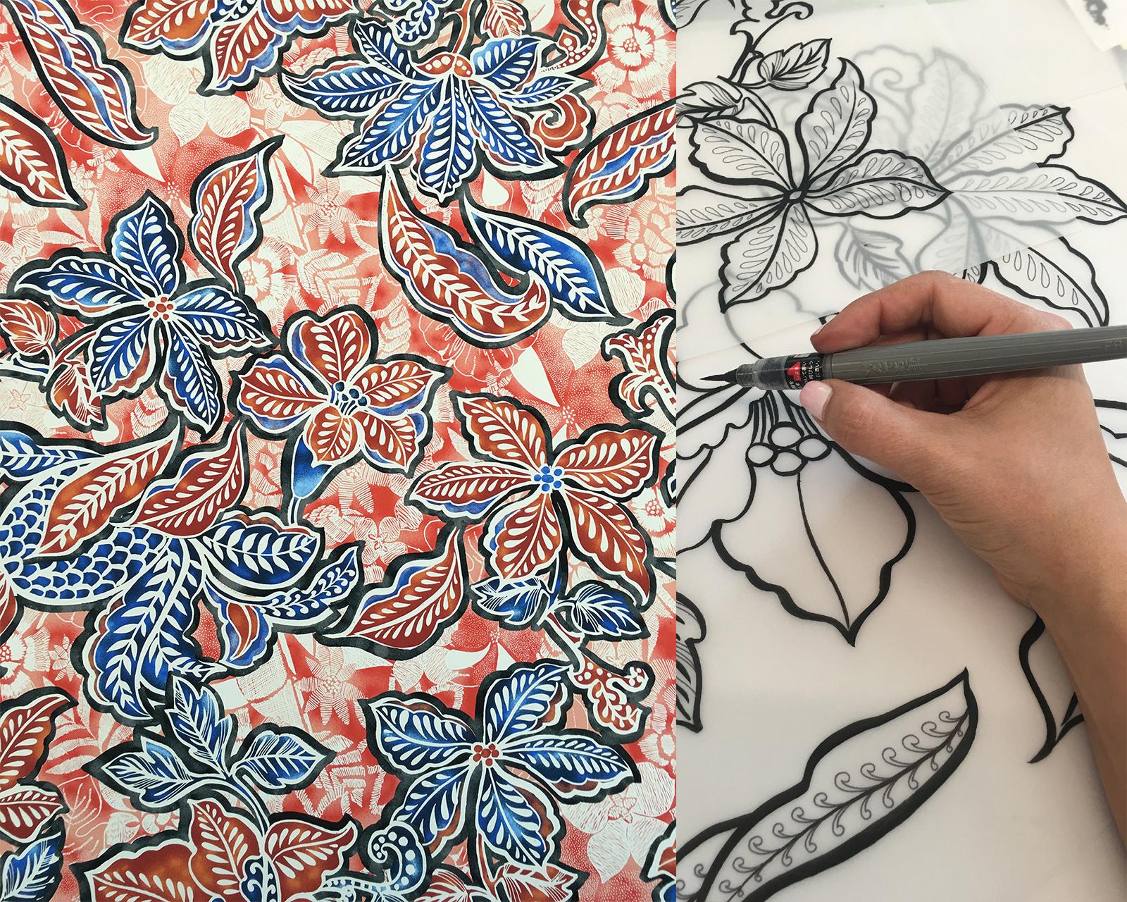 Anne Marie Jackson Textile Design Java copy