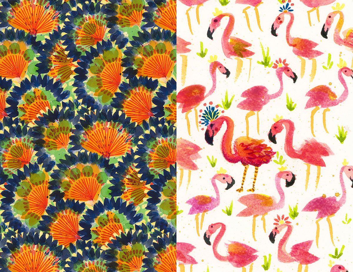 Margie-Tillman-Ayres_Flamingos_Pattern-Observer