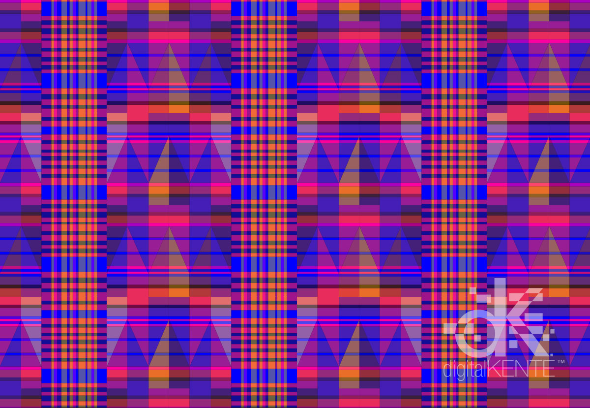 PatternObserver_SURTEX_digitalKENTE_AutumnAmethystStripe
