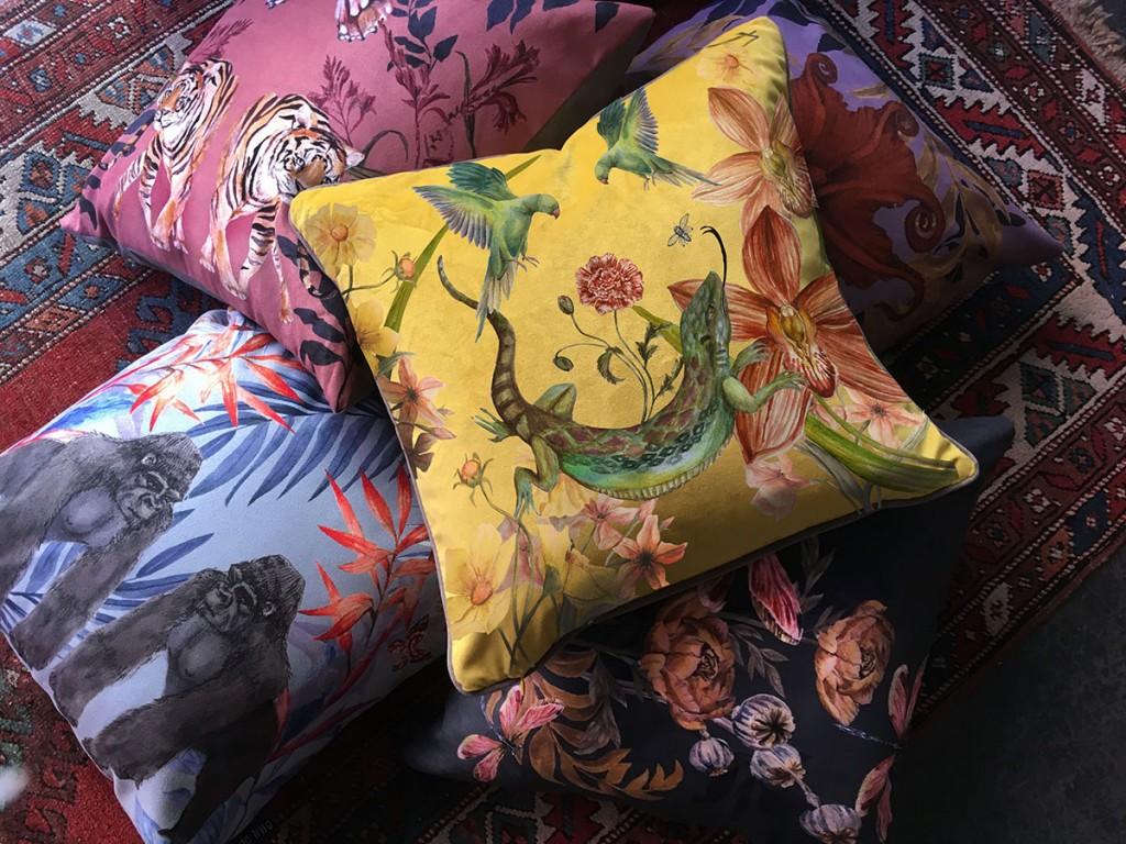 Alice-Acreman-Silks-Pillows